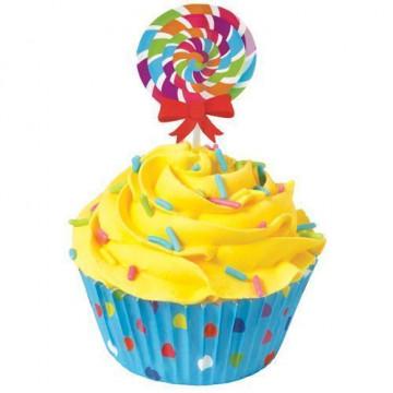 Set para cupcakes: Piruleta Wilton