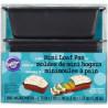 Pack 3 moldes para mini bizcochos rectangulares Wilton