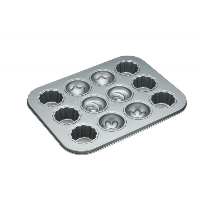 Molde para cupcakes 12 cavidades con tapa
