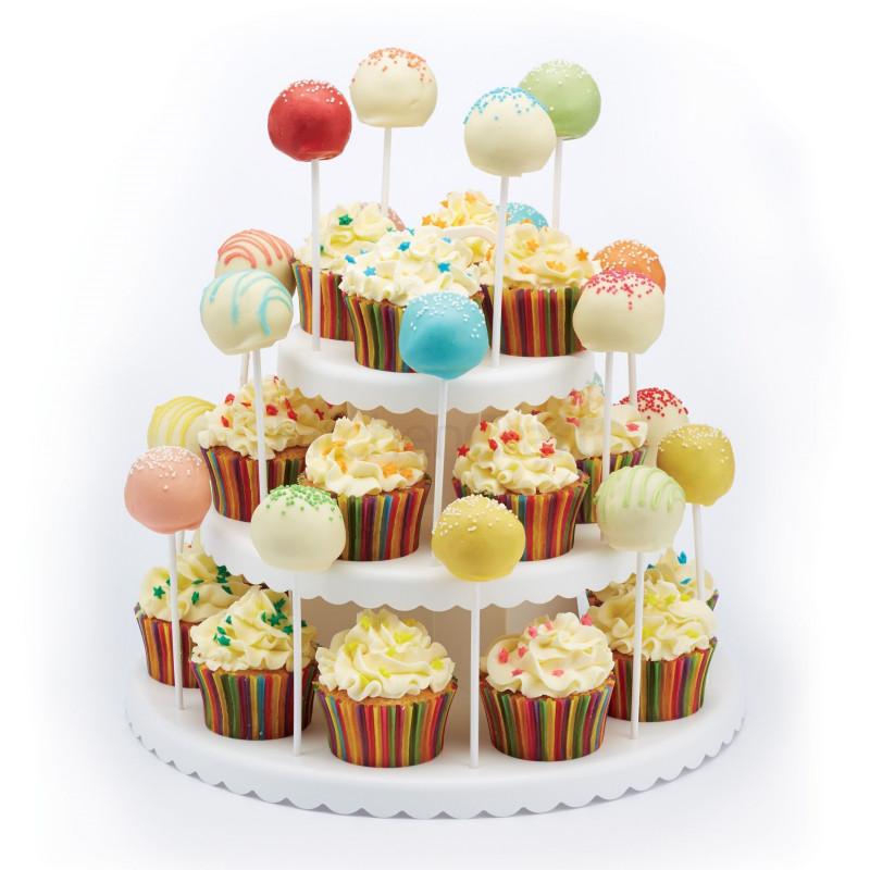 Stand de presentación para cupcakes y cakepops Sweet Does It