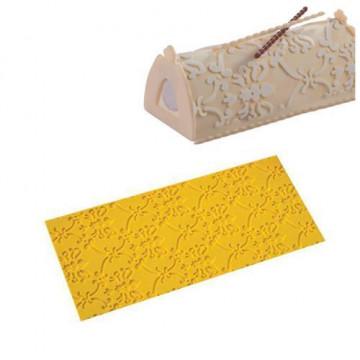 Plancha de silicona texturizadora Arábica Martellato