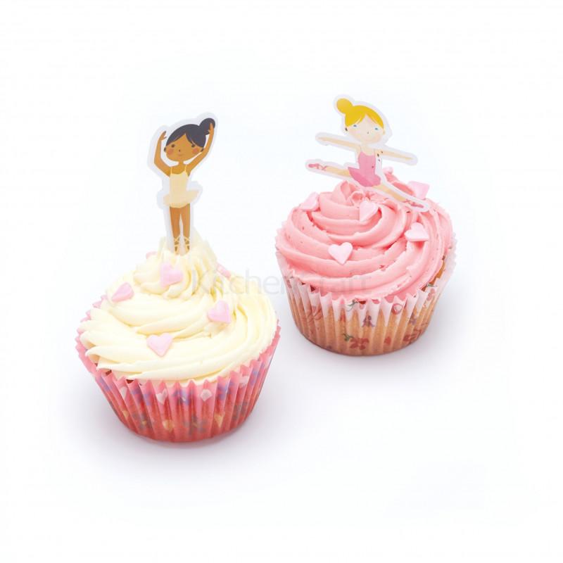 Set para cupcakes: Bailarinas Sweet does it