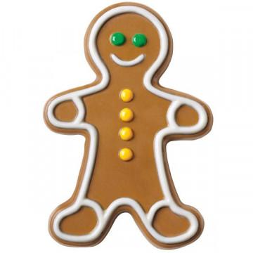 Molde piruletas en forma de muñeco de Gingerbread Wilton
