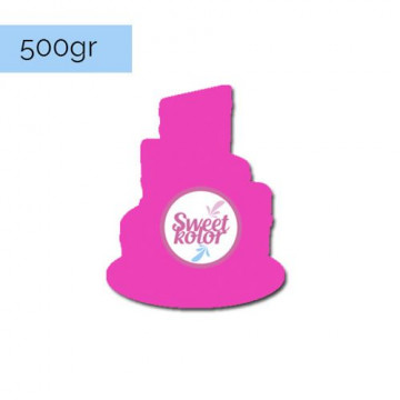 Fondant Fucsia 500 gr Sweet Kolor