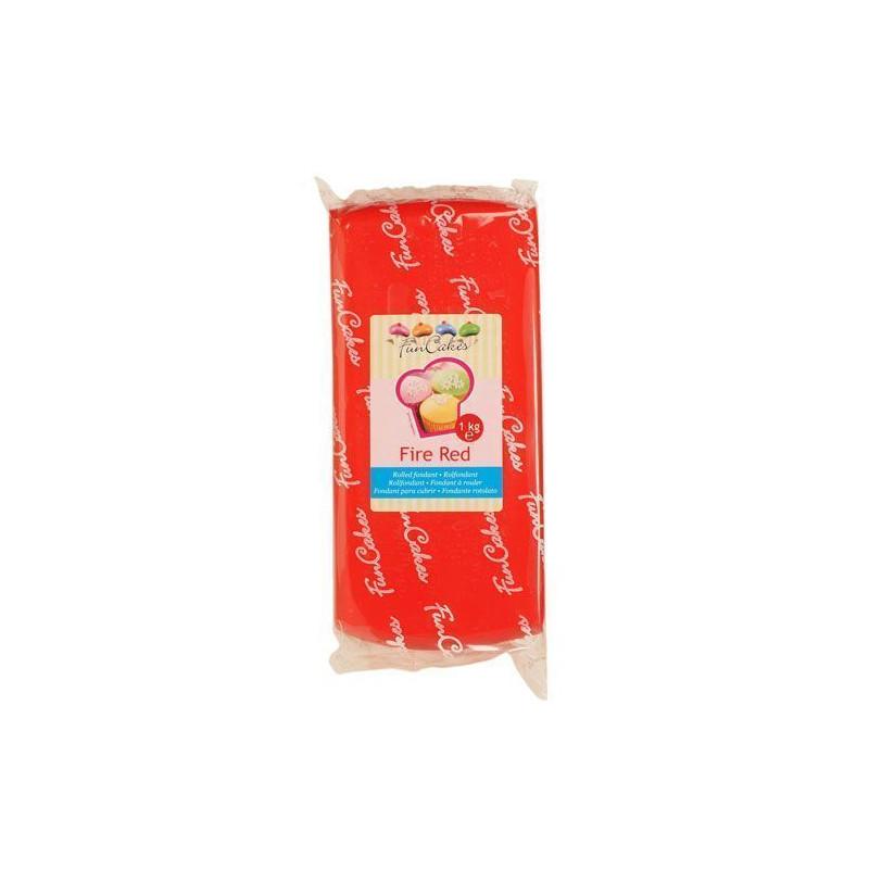 Fondant funcakes rojo 1kg