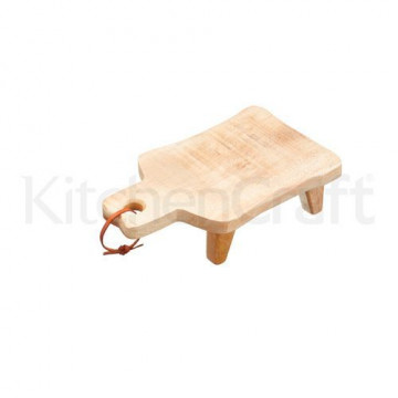 Tabla de corte de madera con patas Kitchen Craft