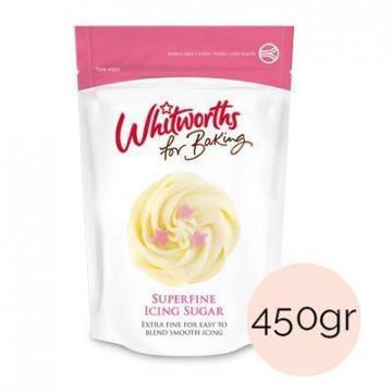 Azúcar icing sugar extra fina Whitworths 450gr