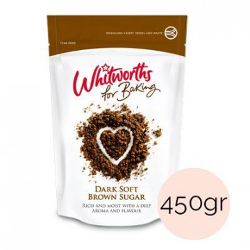 Azúcar moreno Dark Brown Whitworths 350gr
