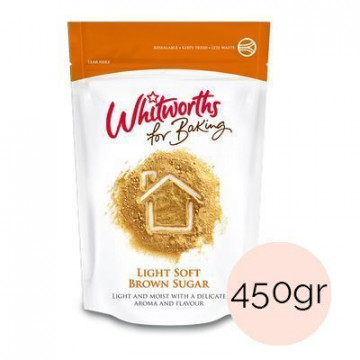Azúcar moreno Light Brown Whitworths 450gr