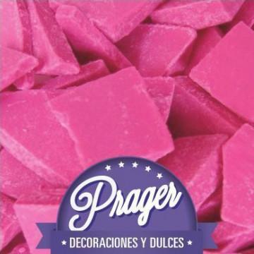 Cobertura de chocolate Chocomelts Fuxia Prager