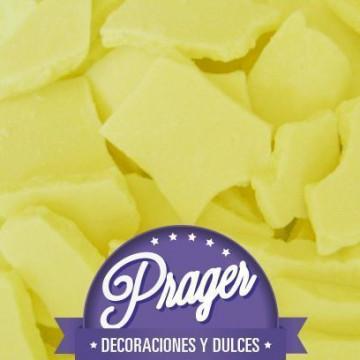 Cobertura de chocolate Chocomelts Amarillo Prager