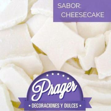 Cobertura de chocolate sabor cheesecake BLANCO Prager