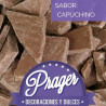 Cobertura de chocolate sabor capuchino MARRÓN Prager