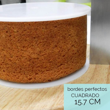 Discos Bordes Perfectos Cuadrado: 15.7 cm