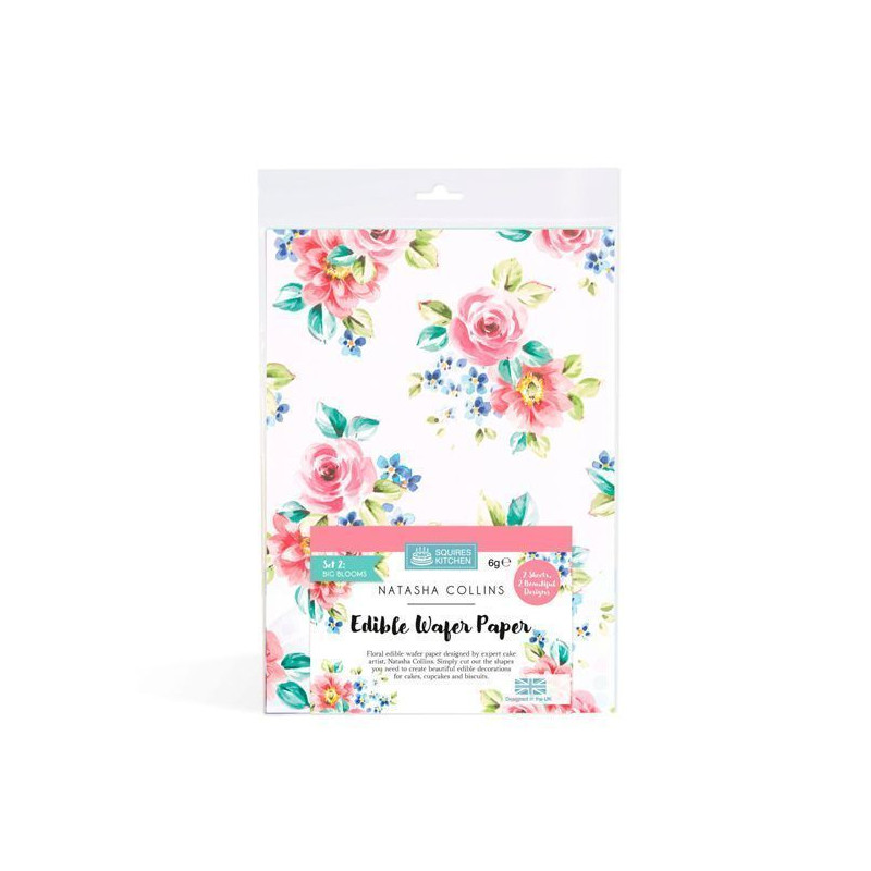 Pack de 10 Obleas finas para hacer flores Squires Kitchen [CLONE]