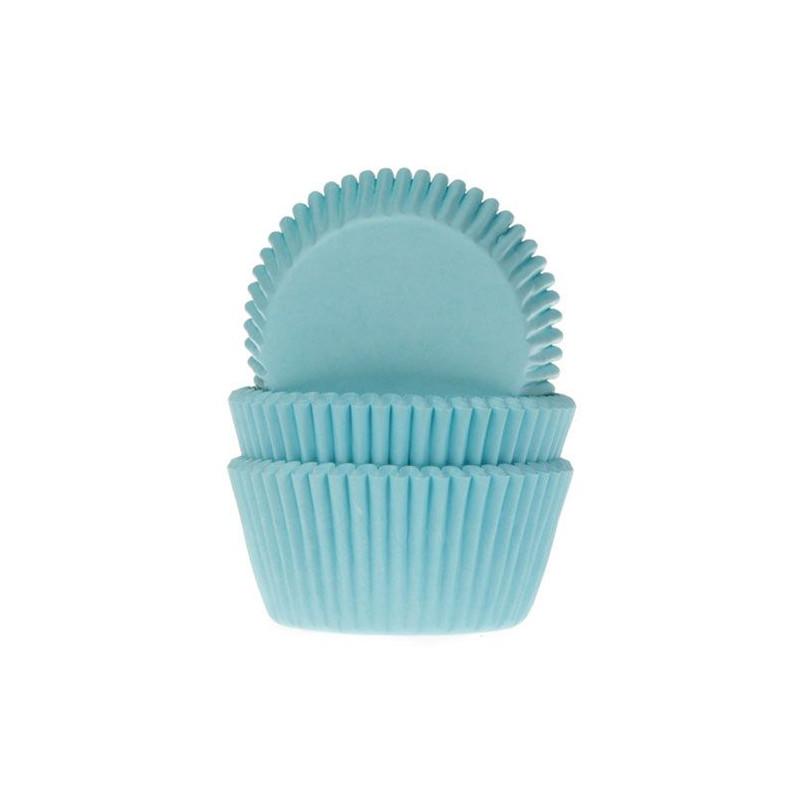 Cápsulas cupcakes turquesa HoM