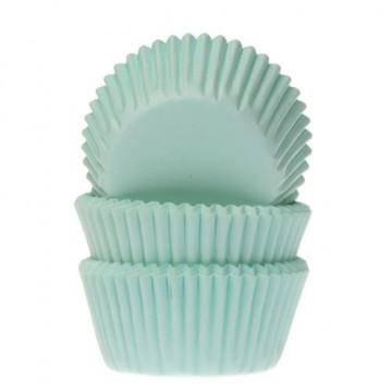Cápsulas mini cupcakes verde menta HoM