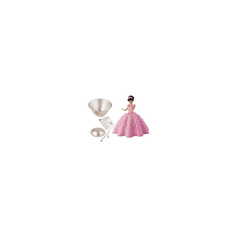Kit  para realizar vestidos de princesas Wilton.