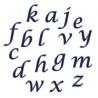 Alfabeto Minúscula Script FMM