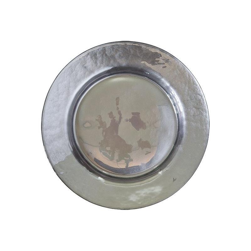 Plato de cerámica  Plata Brillante Green Gate [CLONE]
