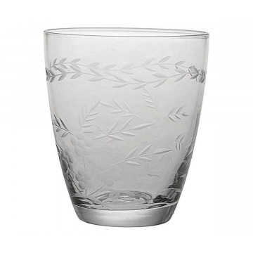 Vaso de cristal labrado Green Gate