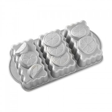 Molde 3 cavidades Lemon Treo Loaf Pan Nordic Ware