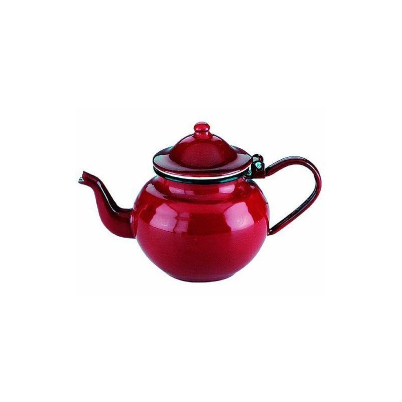Tetera esmaltada roja 0.5l Ibili [CLONE]