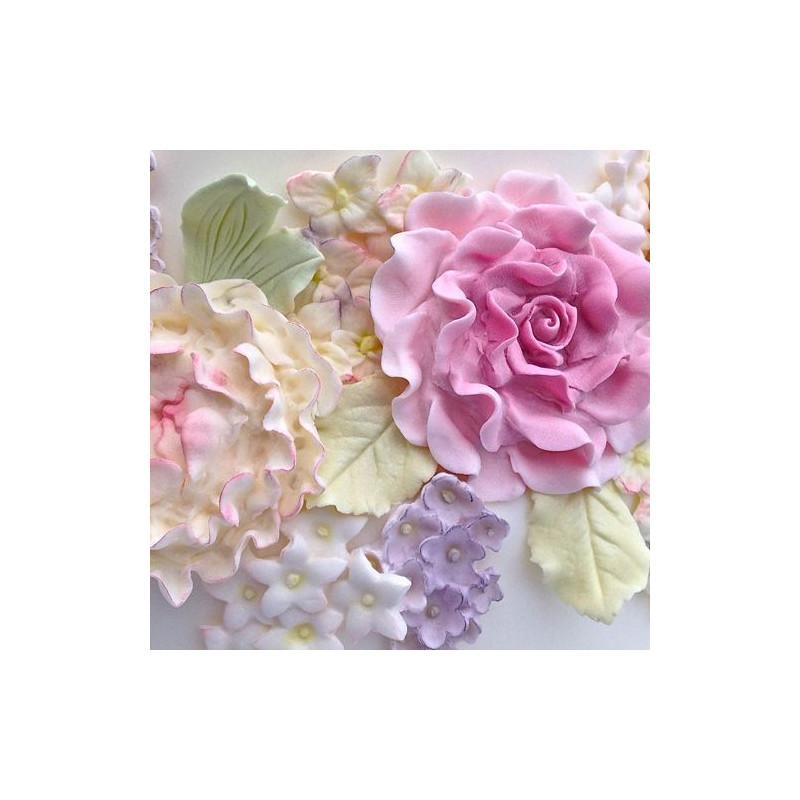 Molde de silicona adornos florales Karen Davies