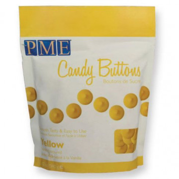 Candy buttons Amarillo 340gr PME