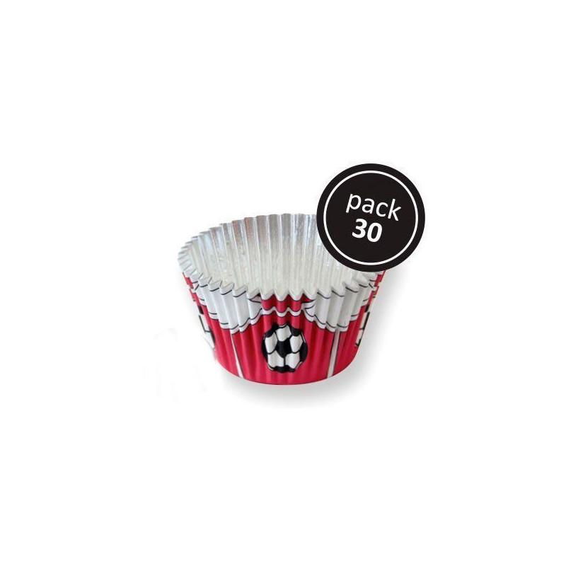 Cápsulas cupcakes antigrasa fútbol azul PME [CLONE] [CLONE]