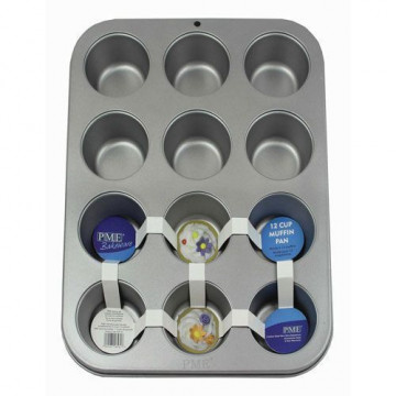 Molde para cupcakes 12 cavidades PME