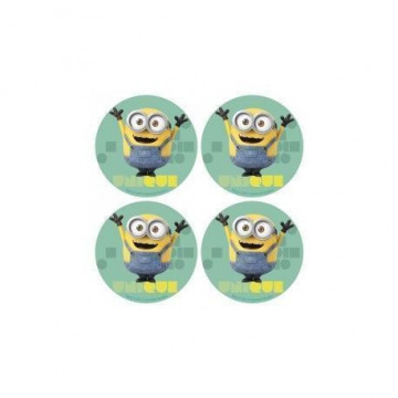 Obleas Cupcakes pack 12 Minion