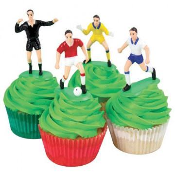 Set de cumpleaños: Fútbol jugadores y porterías PME