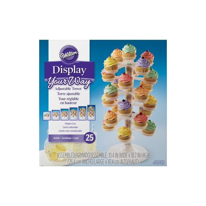 Stand para cupcakes Torre Wilton