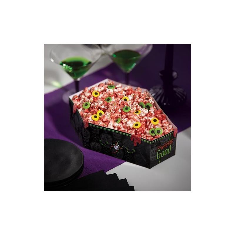 Cajas para presentar dulces Ataúd Calavera Halloween Wilton [CLONE]