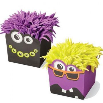 Cápsulas cuadradas Monstruos Halloween Wilton