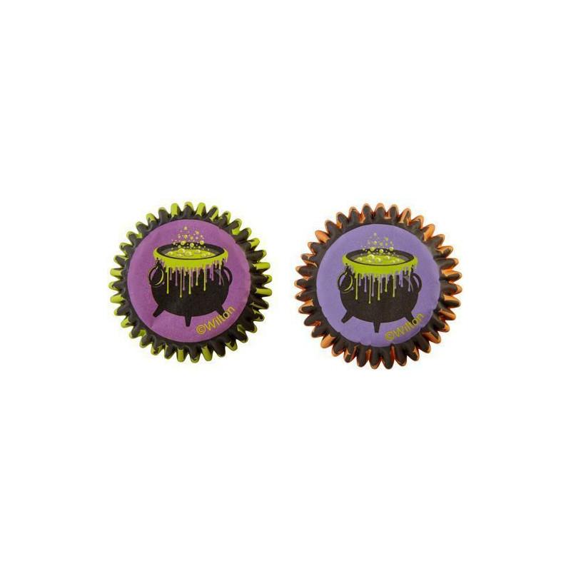 Capsulas mini cupcakes Jack-O-Latern Calabaza Halloween [CLONE]