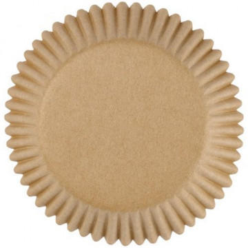 Cápsulas mini cupcakes beig Wilton