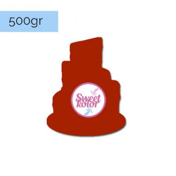 Fondant Granate 500 gr Sweet Kolor