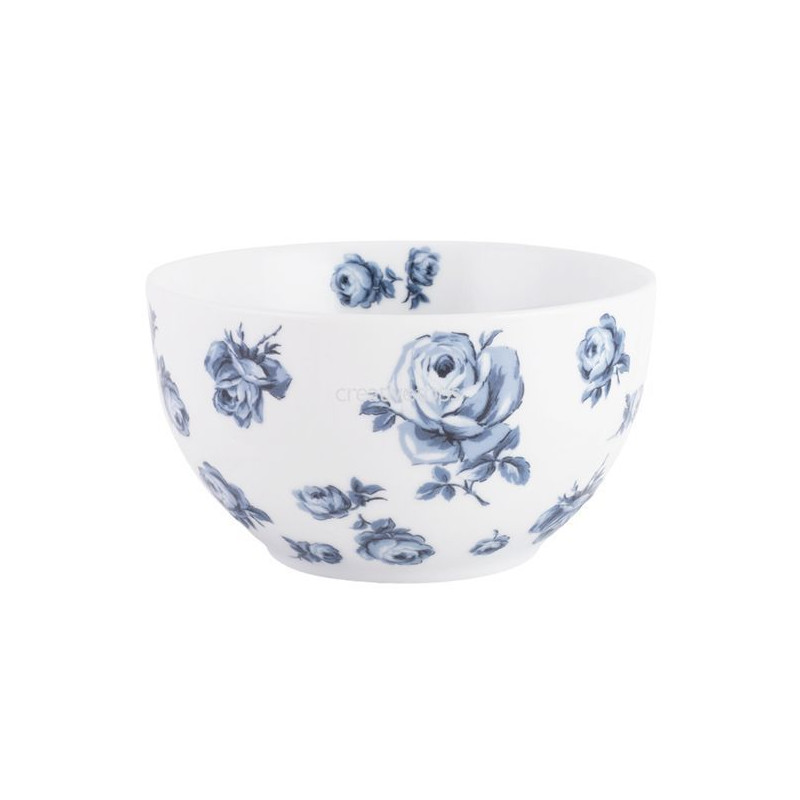 Bol de cerámica Vintage Indigo Katie Alice
