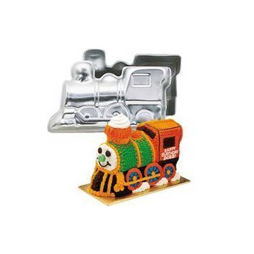 Molde bizcocho Tren 3D Wilton