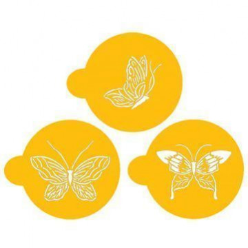 Stencils Butterfly Cupcakes/ Cookies