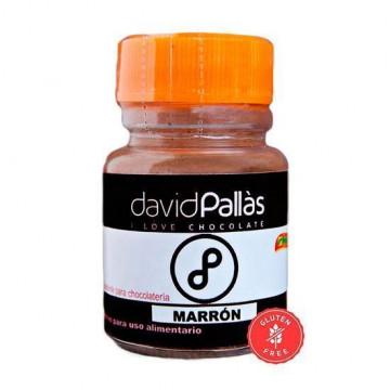 Colorante para chocolate marrón David Pallás