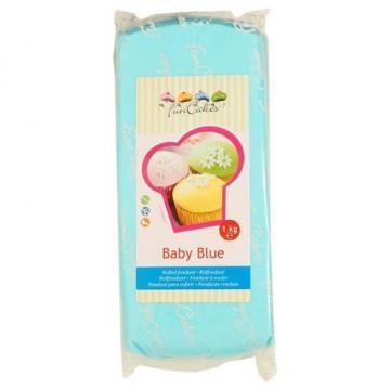 Fondant Funcakes azul mar 1kg [CLONE] [CLONE]