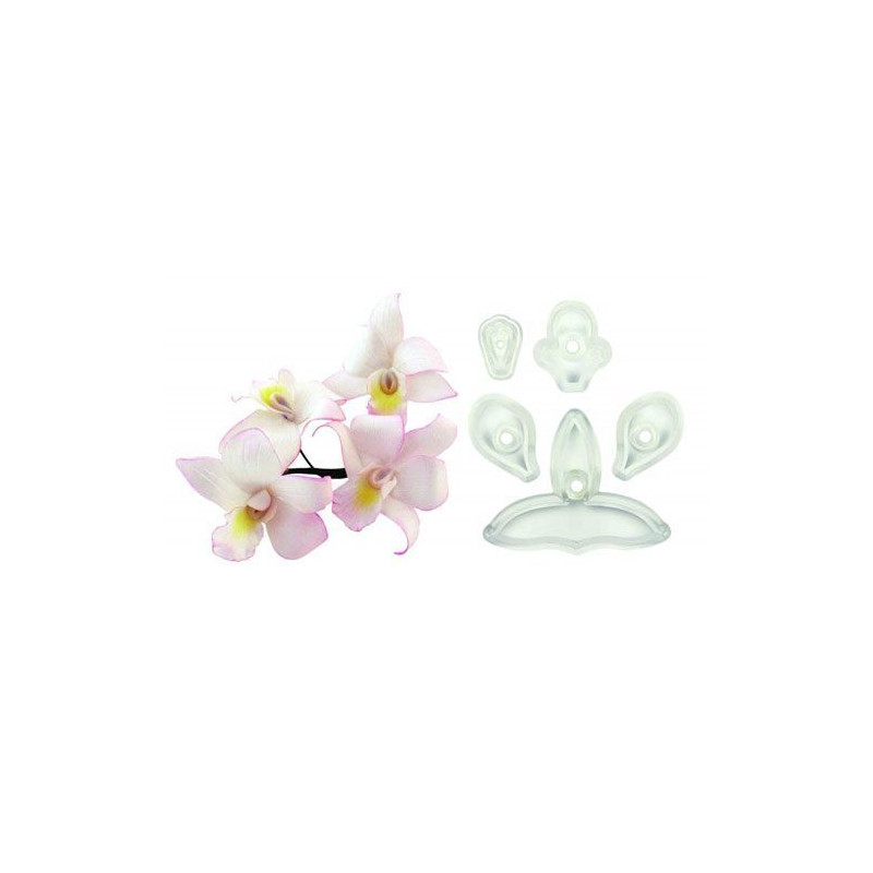 Cortante pack 3 cortantes Orquídea mini Singapur [CLONE]
