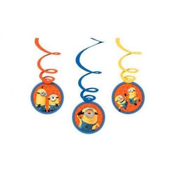 Decoraciones colgantes Swirls Los Minions