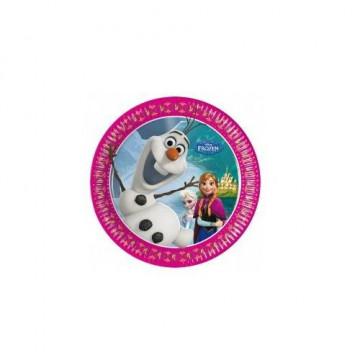 Platos fiesta Olaf Frozen