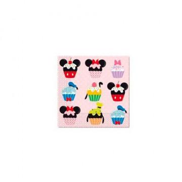 Servilleta de papel Mickey Cupcake
