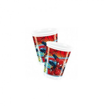 Vasos fiesta Spiderman