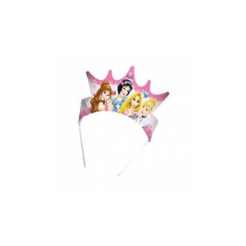 Pack de 6 coronas Princesas Disney